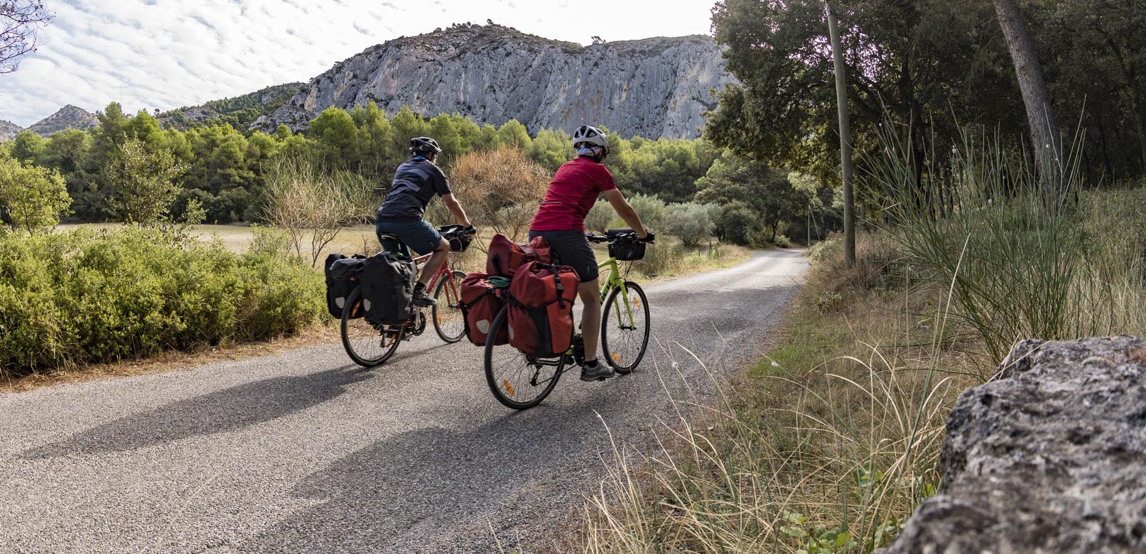 Itineraires vélo en Vaucluse @ Rathay