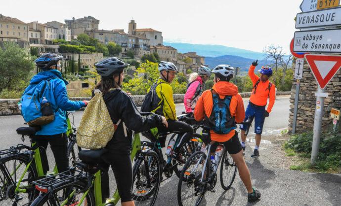 Accompagnateurs vélo en Provence @ Hocquel