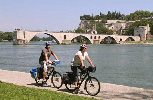 Avignon à vélo @ Bronner