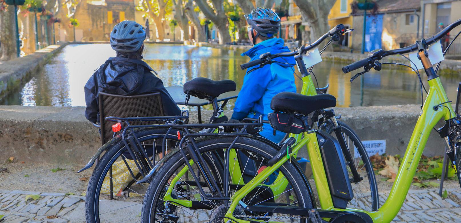 Vélo électrique en Luberon @ Hocquel