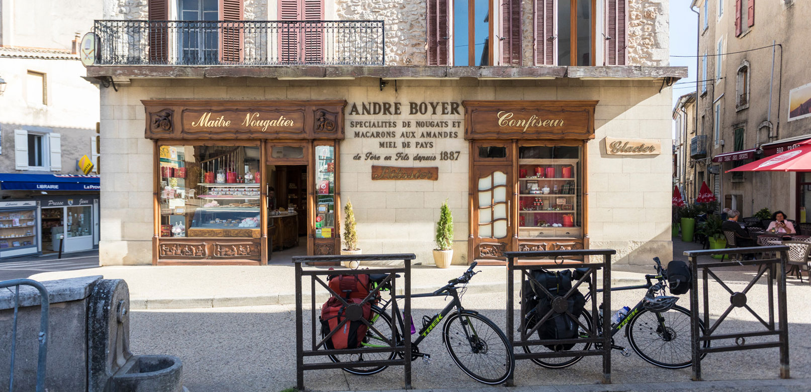 Visites accueil vélo en Vaucluse @ Rathay
