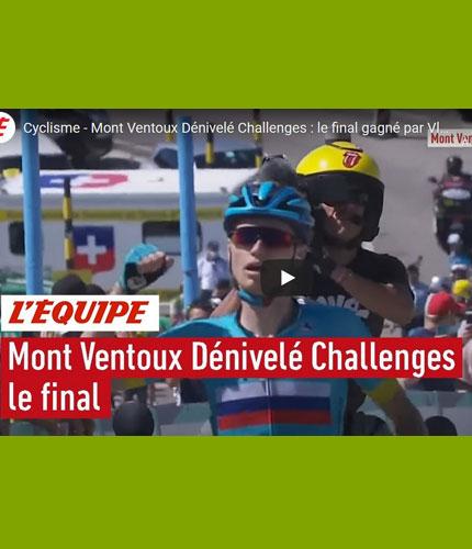 Mont Ventoux Denivelo Challenge vidéo