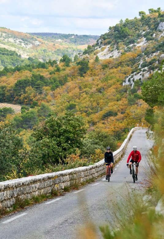 Sortie vélo entre Gordes et Sénanque