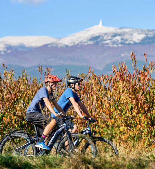 Vélo et mont Ventoux